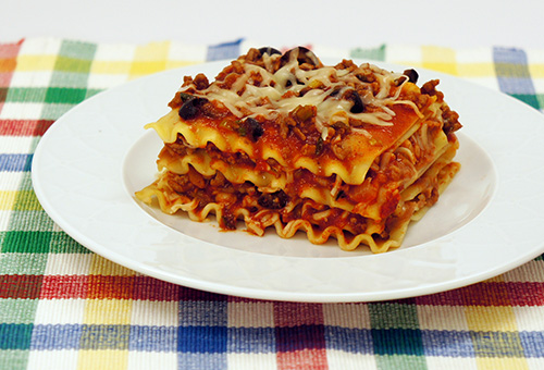 American Beauty Old Fashioned Lasagna Recipe